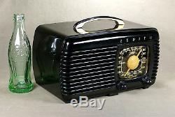 Zenith Model 6-D-510 Bakelite Tube Radio A Gem From 1941 Serviced & Working