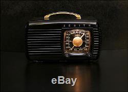 Zenith Model 6-D-510 Bakelite Tube Radio A Gem From 1941