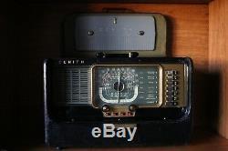 Zenith Model H500 Transoceanic Radio Tube Portable (1951)