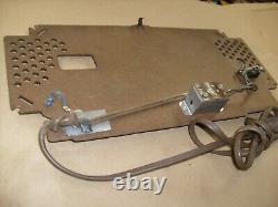 Zenith Model J-733 AM/FM Clock tube Radio (1956) ONE ORIGINAL BACK COVER WithAC
