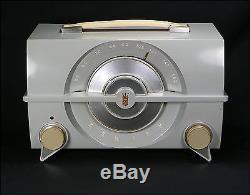 Zenith R615G Factory Painted Bakelite Tube Radio From 1954 Working, No Cracks