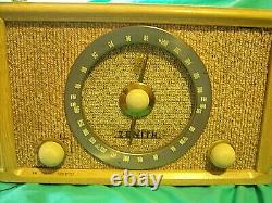 Zenith Radio B835 8 Tube Hi Fidelity Radio from 1956 Excellent Condition! L00K
