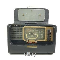 Zenith Radio Corp Transoceanic Wave Magnet Radio Model H500 Chassis 5H40