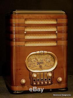 Zenith Radio Model 5 S 327, Complete Restoration, Free Shipping with BIN