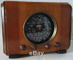 Zenith Radio Model 6 S 222, Original Cube Radio, Fully Restored