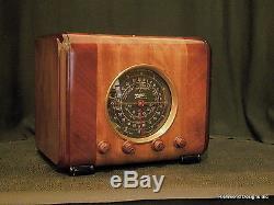 Zenith Radio Model 6 S 222, Original Cube radio, Fully restored, See Warranty