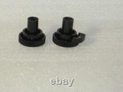 Zenith Radio Parts Transoceanic Knobs Push For On / Off / Volume And Tuning