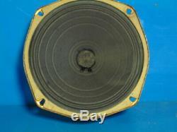 Zenith Radio Speaker 6'' For 7 Tube Radio Came Of Model 7s 633 Tm