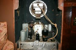 Zenith Radio Tombstone 5-s-29, caps and cord replaced