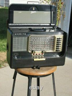 Zenith Radio Transoceanic Model L600 The First 600 Series Transoceanic Made 1954