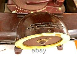 Zenith Record Player Radio COBRA-MATIC H664 VARIABLE SPEED TUBE AMP PARTS/REPAIR