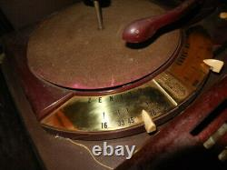 Zenith Record Record Player Radio COBRA-MATIC H664 Variable Speed Tube'50s