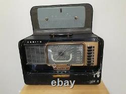 Zenith Super Trans Oceanic Radio Model H-500 (1956)