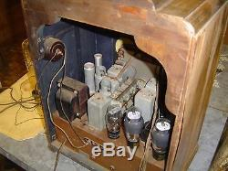 Zenith Tombstone Radio Model 10S130, 1936-37, for Parts or Repair, Rare