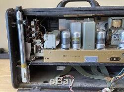 Zenith Trans-Oceanic Clipper Model 8G005YT Shortwave Radio For Refurb, Very Nice