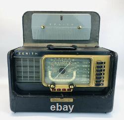 Zenith Trans-Oceanic Model H500 Portable Short Wave Radio H540