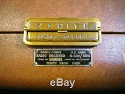 Zenith Trans-Oceanic Radio R-520/URR