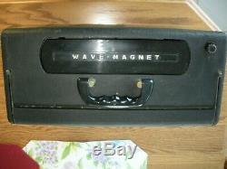 Zenith Trans Oceanic Wave-Magnet Tube Radio Short Wave Marine Phone
