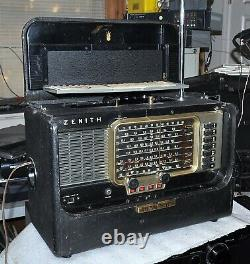 Zenith Trans-oceanic Model T600 Vintage Collectable 1955 Good Condition