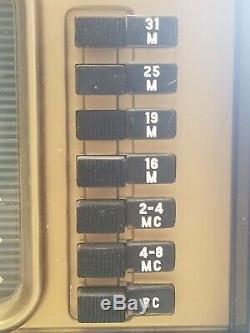 Zenith Trans-oceanic Radio Model H500 Shortwave