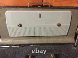 Zenith Trans-oceanic Vintage Tube Radio 1950's Works