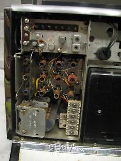 Zenith Transoceanic 1000-1 Shortwave/AM Radio Trans-Oceanic 6A40 Wave-Magnet