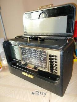 Zenith Transoceanic 600 multiband tube radio- nice condition, fully restored