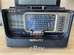 Zenith Transoceanic B600 Radio Very Nice