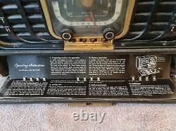 Zenith Transoceanic Clipper 8G005YTZ1 Radio- AS IS for Restoration