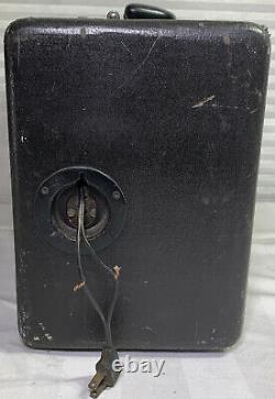 Zenith Transoceanic L600 Vintage Tube Radio