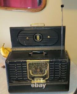 Zenith Transoceanic Model G500 1949