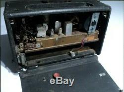 Zenith Transoceanic R600 Shortwave/AM Radio Trans-Oceanic Wave-Magnet 1959-62