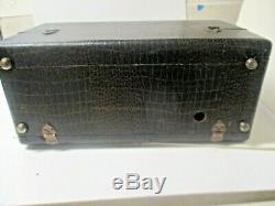 Zenith Transoceanic Radio Model 7G605 Bomber Serial # T887677