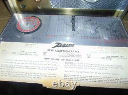 Zenith Transoceanic Royal'1000' Shortwave/AM Radio Trans-Oceanic Wave-Magnet