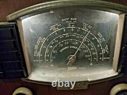 Zenith Tube Radio 1941 Or 1942 7s634r Table Radio In Working Order
