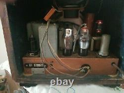 Zenith Vintage Cube Radio Model7d-222