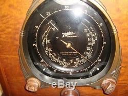 Zenith Walton 7J232 100% Restored 120V or 6V Not 9S232 or 12S232 Original finish