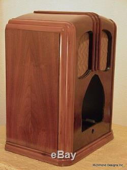 Zenith Walton ORIGINAL Cabinet Only, Restored inside and out, shipping $30.00