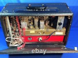 Zenith Wave Magnet Trans Oceanic Radio Model B600 Vintage Antique Tube Radio