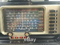 Zenith Wave Magnet Trans-Oceanic Shortwave Radio Chassis 6L40