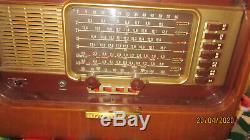 Zenith Wavemagnet Transoceanic short wave Radio Model B 600 Non Working 1940'S