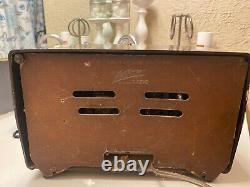 Zenith antique tube radio